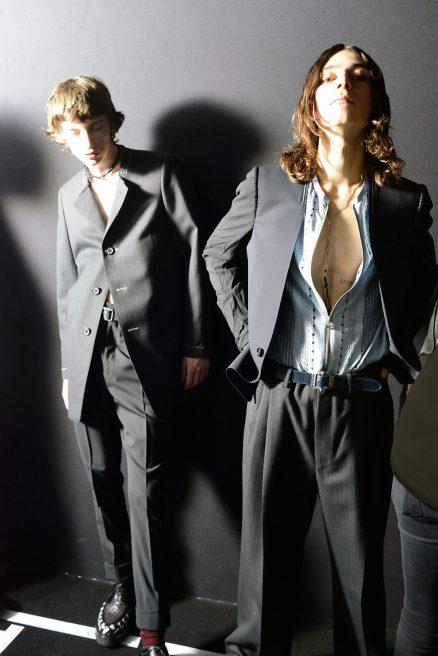 Backstage défilés homme/Les Echos 01/16